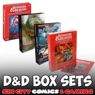 D&D BOXED SETS