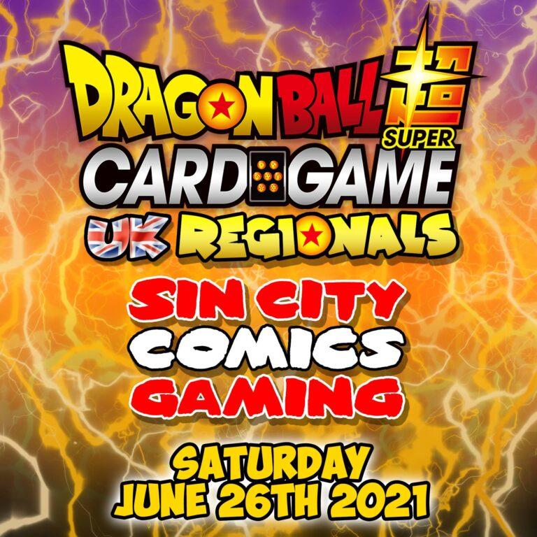 2021 Dragonball Super Card Game UK Regionals